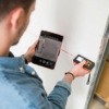 Kép 2/2 - Digitális, Smart távolságmérő - Bluetooth kapcsolattal