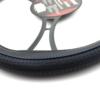 Kép 2/2 - Kormányvédő - 38 cm - HVA004 - csúszásmentes - kék / fekete