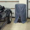 Kép 2/2 - Kerék szett takaró ponyva - szürke