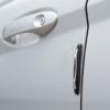 Kép 2/2 - Univerzális ajtóélvédő - gumi, krómozott - 4 db / csomag