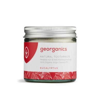 Georganics kókuszolajos fogkrém eukaliptusz 120ml