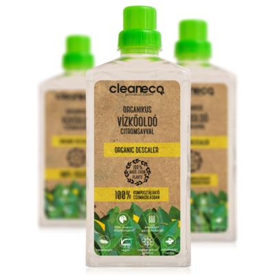 Cleaneco Organikus Vízkőoldó citromsavval 1L - komposztálható csomagolásban