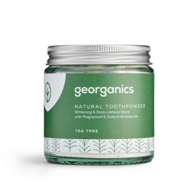 Georganics természetes fogpor teafa 120ml