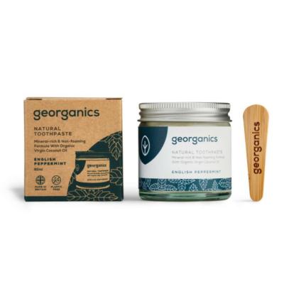 Georganics kókuszolajos fogkrém angol borsmenta 120 ml