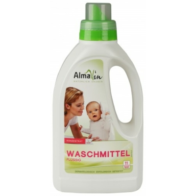 AlmaWin Öko Folyékony mosószer koncentrátum újrahasznosított csomagolás 750 ml
