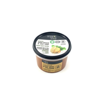 Organic shop bio testradír hab édes mandulával