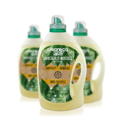 Cleaneco Organikus Univerzális Mosógél Koncentrátum 1,5L - újrahasznosított csomagolásban