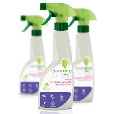Cleaneco Baby Felület Fertőtlenítő 0,5L - újrahasznosított csomagolásban