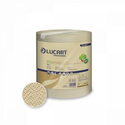 Lucart EcoNatural 2.300 Tekercses törlőkendő 2 RÉTEGŰ 300 LAP / CSOMAG