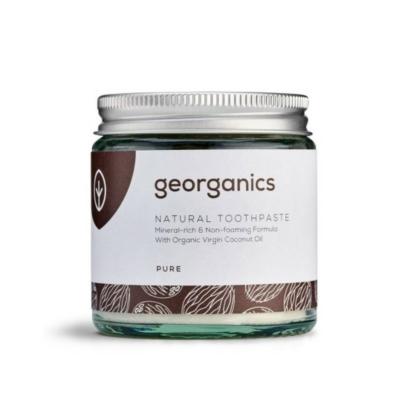 Georganics kókuszolajos fogkrém natúr 60 ml