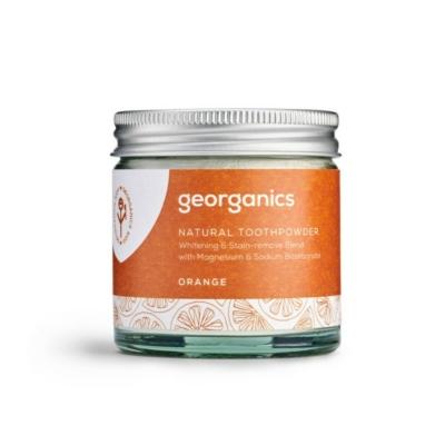 Georganics természetes fogpor narancs 120ml