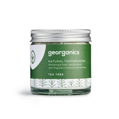 Georganics természetes fogpor teafa 60 ml