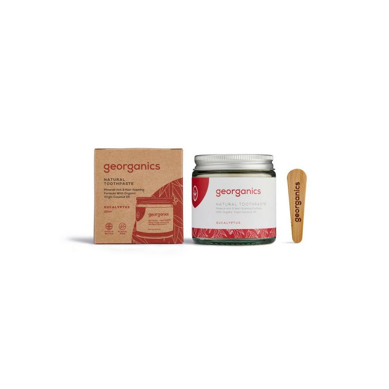 Georganics kókuszolajos fogkrém eukaliptusz 120 ml