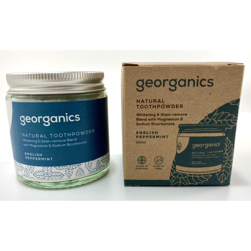 Georganics fogpor angol borsmenta 120ml