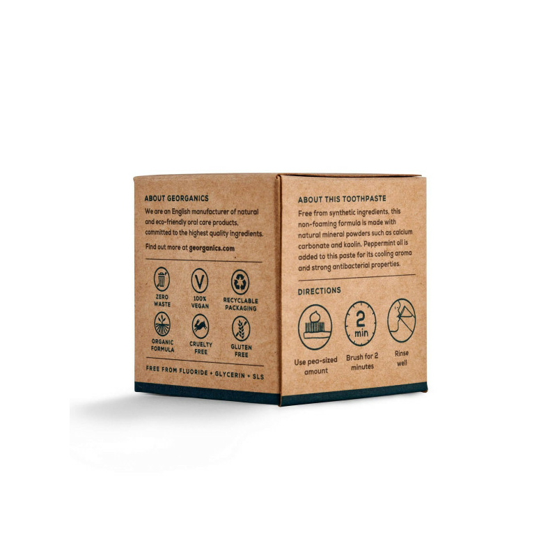 Georganics fogkrém angol borsmentával 120 ml