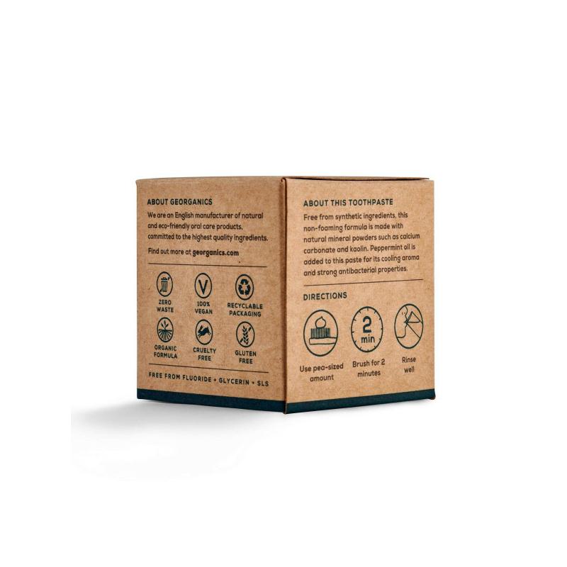 Georganics fogkrém angol borsmentával 60 ml
