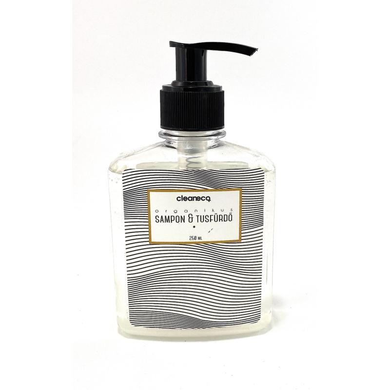 cleaneco Sampon és tusfürdő 0,25L, B&W