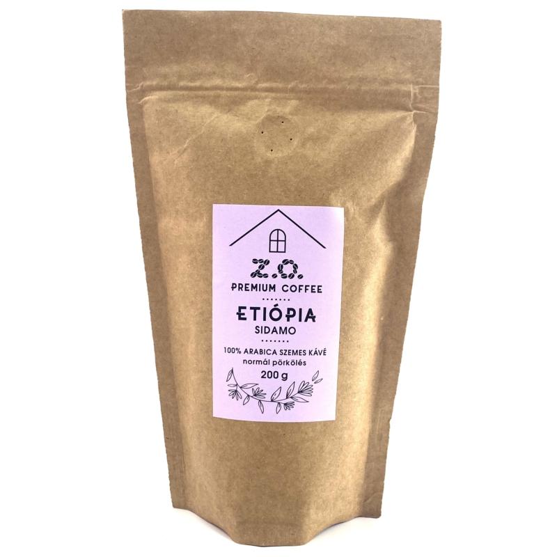 Z.O. Premium coffee Etópia Sidamo 100% Arabica