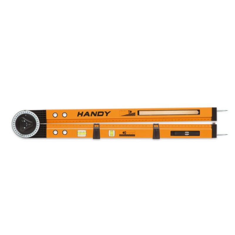 Multifunkciós szögmérő, vonalzó, vízmérték, jelölő eszköz egyben