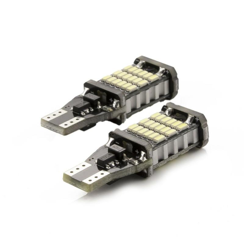 Autós LED - CAN131 - T10 (W5W) - 450 lm - can-bus - SMD - 5W - 2 db / bliszter