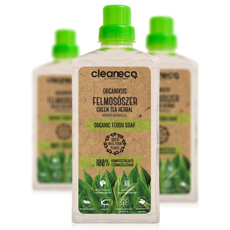 Cleaneco Felmosószer Zöld Tea
