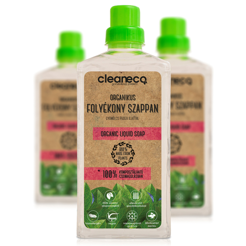 Cleaneco Organikus Folyékony Szappan 1L