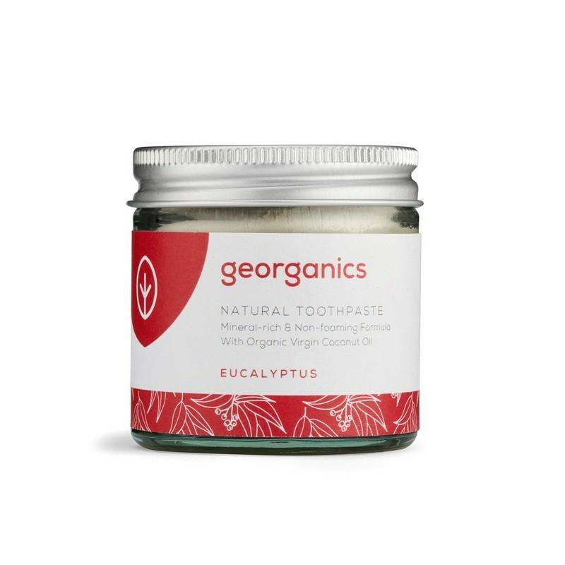Georganics kókuszolajos fogkrém eukaliptusz 60 ml