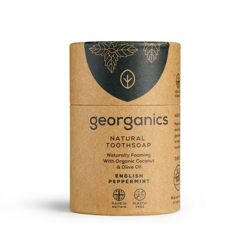 Georganics  Fogszappan (Natural Toothsoap)  Angol Borsmenta