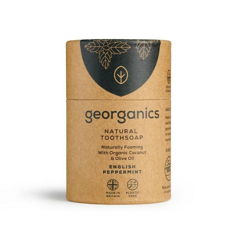 Georganics fogszappan angol borsmenta
