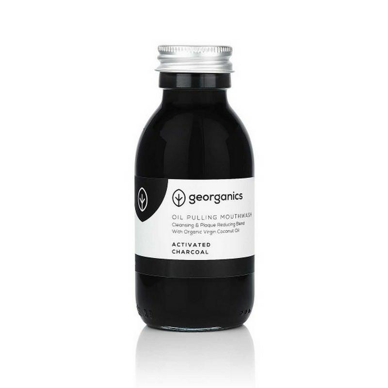 Georganics Szájvíz- aktív szén, 100 ml
