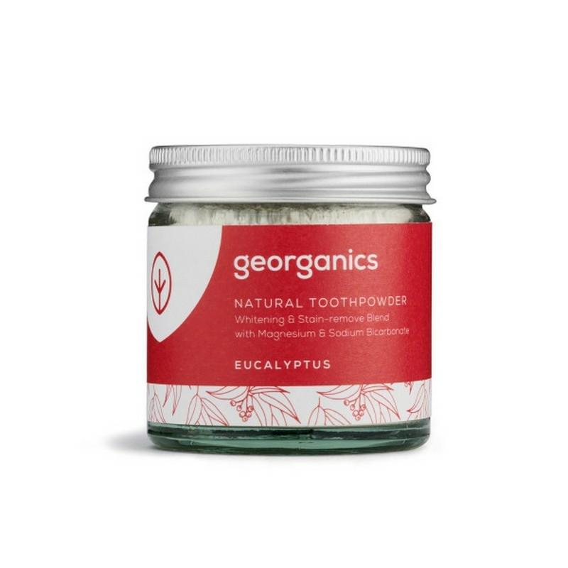 Georganics természetes fogpor eukaliptusz 60 ml