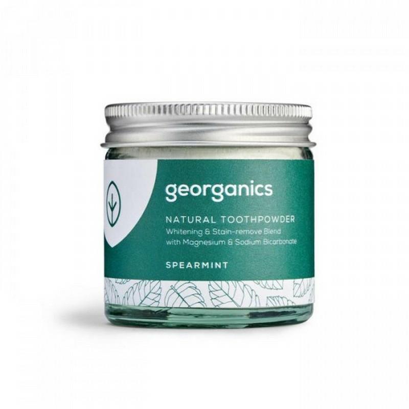 Georganics természetes Fogpor- Fodormenta, 60 ml