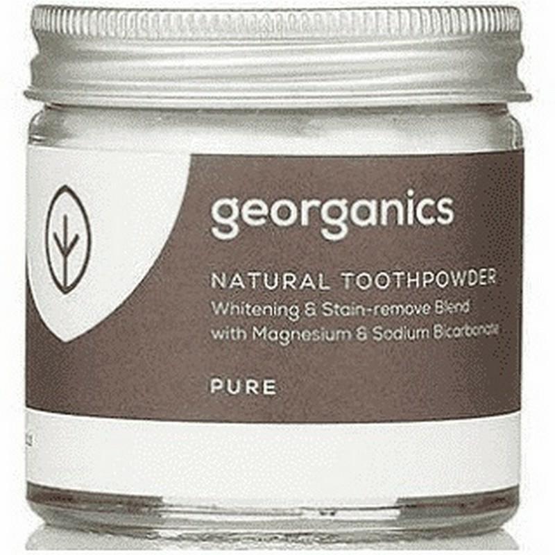 Georganics természetes fogpor natúr 60 ml
