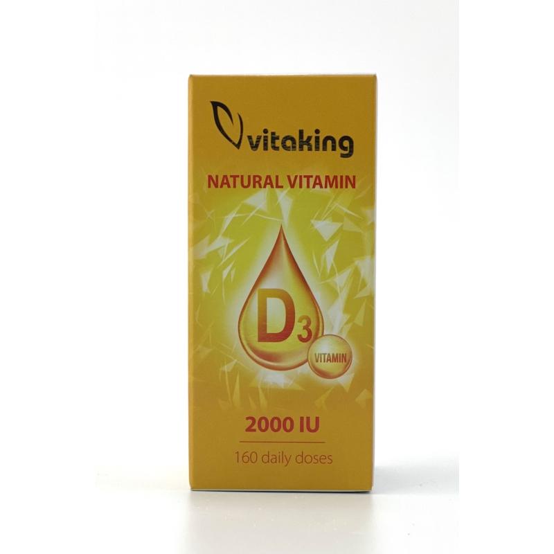 Vitaking D3 vitamin csepp